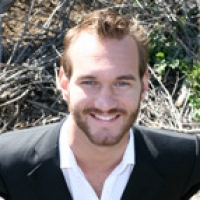 Nick Vujicic--No arms. No legs. No limits